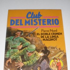 Tebeos: CLUB DEL MISTERIO - Nº 29 - EL DOBLE CRIMEN DE LA LINEA MAGINOT (BRUGUERA). Lote 27289303
