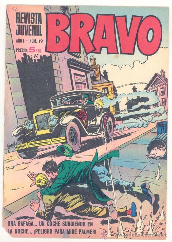 REVISTA BRAVO Nº. 19 (Tebeos y Comics - Bruguera - Bravo)