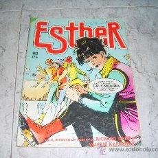 Tebeos: ESTHER Y SU MUNDO Nº 58, DICIEMBRE 1983. POSTER CENTRAL DE RICHARD GERE Y VALERIE KAPRINSKY. Lote 26110306