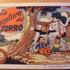 Tebeos: TITIN Y TOPITA AÑO 1943 ( ORIGINAL ED. BRUGUERA ) ( ES ). Lote 27546398