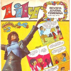 Tebeos: LILY Nº 476 BRUGUERA 1971 CANDY CRISTINA TIO ARTHUR REVISTA JUVENIL FEMENINA. Lote 26349882