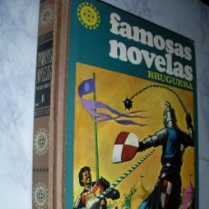 Tebeos: FAMOSAS NOVELAS BRUGUERA TOMO II. Lote 26372231