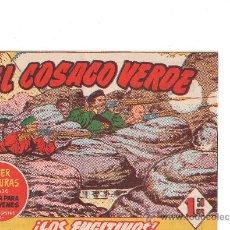 Tebeos: EL COSACO VERDE Nº 117 EDITA BRUGUERA . Lote 26497635