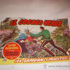 Tebeos: EL COSACO VERDE Nº 128, EDITORIAL BRUGUERA. Lote 26527090