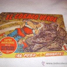 Tebeos: EL COSACO VERDE Nº 113, EDITORIAL BRUGUERA. Lote 26527210