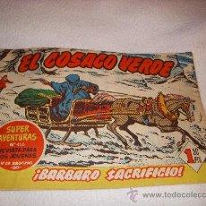 Tebeos: EL COSACO VERDE Nº 59, EDITORIAL BRUGUERA. Lote 26527256