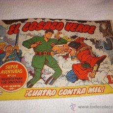 Tebeos: EL COSACO VERDE Nº 20, EDITORIAL BRUGUERA. Lote 26527271