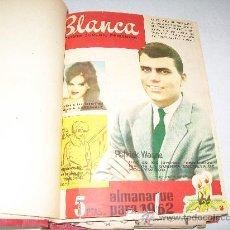 Tebeos: BLANCA REVISTA JUVENIL FEMENINA- TOMO CON 36 ENCUADERNADOS-1960-62.- VER LISTADO DE Nº.. Lote 26576232