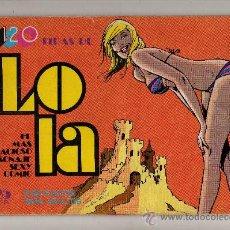 Tebeos: (M-3) LOLA Y SUS TRAVESURAS NUM 6 - EDT BRUGUERA 1975 - SEÑALES DE USO. Lote 26663094