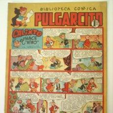 Tebeos: BIBLIOTECA COMICA PULGARCITO , 102 ALBUM INFANTIL MUY BUENA CONSERVACION BRUGUERA . Lote 26663582