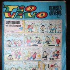 Tebeos: TIO VIVO - AÑO X - Nº 345 - 16-10-1967. Lote 26672198