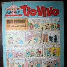 Tebeos: TIO VIVO - AÑO VIII - Nº 247 - 29-11-1965. Lote 26672301