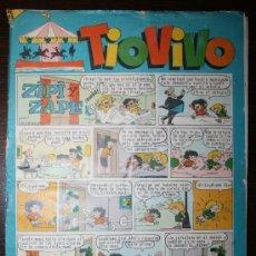 Tebeos: TIO VIVO - AÑO VIII - Nº 201 - 11-01-1965. Lote 26672307