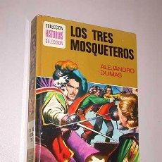 Tebeos: LOS TRES MOSQUETEROS. ALEJANDRO DUMAS. AMBRÓS, BOSCH PENALVA. HISTORIAS SELECCIÓN, BRUGUERA, 1979.. Lote 26885158