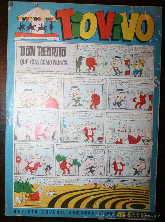 TIO VIVO - AÑO VIII - Nº 290 -26-09-1966 (Tebeos y Comics - Bruguera - Tio Vivo)