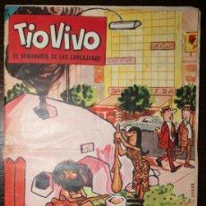 Tebeos: TIO VIVO - AÑO VI - Nº 128 - 19-08-1963. Lote 26693690
