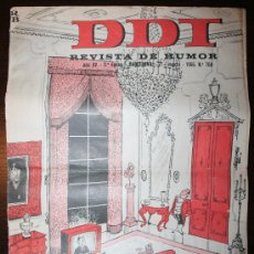 Tebeos: DDT - AÑO XV - Nº 768 - 21-03-1966. Lote 26714404