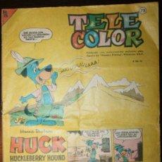 Tebeos: TELE COLOR - AÑO I - Nº 73 - 01-06-1964. Lote 26808631