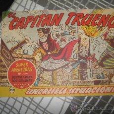 Tebeos: EL CAPITAN TRUENO Nº 339.. Lote 26764143