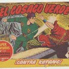 Tebeos: EL COSACO VERDE Nº 35. BRUGUERA 1960.. Lote 26788045