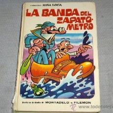 Tebeos: COLECCIÓN RISA LOCA Nº 5 MORTADELO. BRUGUERA 1973. 1 ª ED 60 PTS. DE REGALO EL Nº 3. DIFÍCIL!!!!!!!. Lote 26953815
