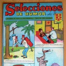 Tebeos: SELECCIONES DE HUMOR DE EL DDT Nº 37 - EDITORIAL BRUGUERA 1957. Lote 26949942