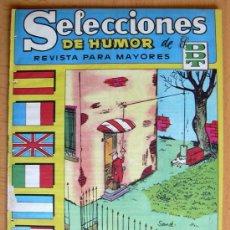 Tebeos: SELECCIONES DE HUMOS DE EL DDT Nº 50 - EDITORIAL BRUGUERA 1957. Lote 26950123