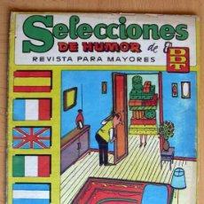 Tebeos: SELECCIONES DE HUMOR DE EL DDT Nº 56 - EDITORIAL BRUGUERA 1957. Lote 26950142