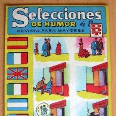Tebeos: SELECCIONES DE HUMOR DE EL DDT Nº 68 - EDITORIAL BRUGUERA 1957. Lote 26950152