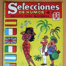 Tebeos: SELECCIONES DE HUMOR DE EL DDT Nº 74 - EDITORIAL BRUGUERA 1957. Lote 26950824