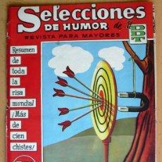 Tebeos: SELECCIONES DE HUMOR DE EL DDT Nº 102 - EDITORIAL BRUGUERA 1957. Lote 26950979