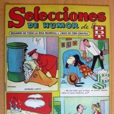 Tebeos: SELECCIONES DE HUMOR DE EL DDT Nº 6 - EDITORIAL BRUGUERA 1957. Lote 26960338
