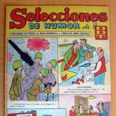 Tebeos: SELECCIONES DE HUMOR DE EL DDT Nº 14 - EDITORIAL BRUGUERA 1957. Lote 26960377