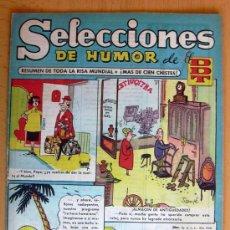 Tebeos: SELECCIONES DE HUMOR DE EL DDT Nº 3 - EDITORIAL BRUGUERA 1957. Lote 26960416