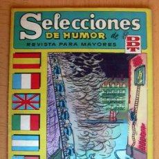 Tebeos: SELECCIONES DE HUMOR DE EL DDT Nº 60 - EDITORIAL BRUGUERA 1957. Lote 26960522