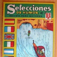 Tebeos: SELECCIONES DE HUMOR DE EL DDT Nº 61 - EDITORIAL BRUGUERA 1957. Lote 26960546
