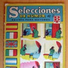 Tebeos: SELECCIONES DE HUMOR DE EL DDT Nº 66 - EDITORIAL BRUGUERA 1957. Lote 26960563