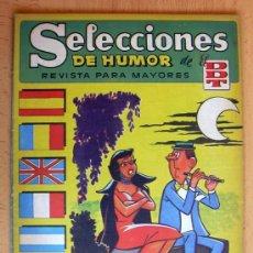 Tebeos: SELECCIONES DE HUMOR DE EL DDT Nº 70 - EDITORIAL BRUGUERA 1957. Lote 26960596