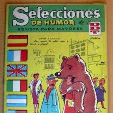 Tebeos: SELECCIONES DE HUMOR DE EL DDT Nº 73 - EDITORIAL BRUGUERA 1957. Lote 26960606