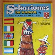Tebeos: SELECCIONES DE HUMOR DE EL DDT Nº 85 - EDITORIAL BRUGUERA 1957. Lote 26960665