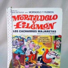 Tebeos: TEBEO, COMIC, MORTADELO, Y FILEMON, LOS CACHARROS MAJARETAS, EDITORIAL BRUGUERA. Lote 27049163