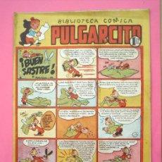Tebeos: BIBLIOTECA COMICA PULGARCITO N. 87 -- CON INSPECTOR DAN , BRUGUERA COMO NUEVO. Lote 27055185