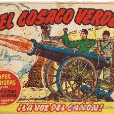 Tebeos: EL COSACO VERDE - Nº 70 - BRUGUERA 1961. Lote 27231105