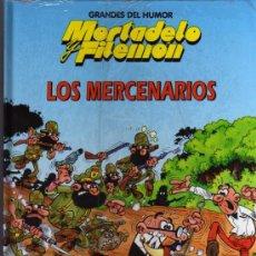 Tebeos: MORTADELO Y FILEMÓN - LOS MERCENARIOS - GRANDES DEL HUMOR Nº 10 - EL PERIÓDICO. Lote 27273235