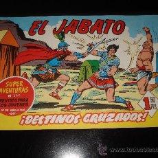 Tebeos: EL JABATO Nº 86 ¡DESTINOS CRUZADOS!. Lote 27255688