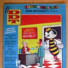 Tebeos: EL DDT Nº 324 - EDITORIAL BRUGUERA 1951. Lote 27332935