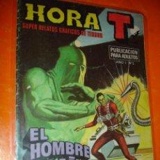 Tebeos: HORA T Nº 5 . EL HOMBRE ARAÑA CONTRA EL EXTERMINADOR . 1975 BRUGUERA .. Lote 27340792