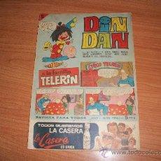 Tebeos: DIN DAN Nº 56 1ª EPOCA CON LA FAMILIA TELERIN EDITORIAL BRUGUERA 1966. Lote 27515467