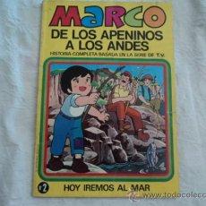 Tebeos: MARCO DE LOS APENINOS A LOS ANDES. Nº 2; ED. BRUGUERA.1977. Lote 27380506
