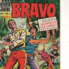 Tebeos: BRAVO Nº 2 DE BRUGUERA . Lote 27431050